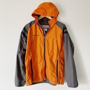 COLUMBIA || Hooded Windbreaker Jacket